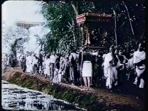 Old India in 1913. Religious ceremonies Pondicherry