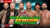 WWE FastLane 2019 Tag Team Titles Revival vs Aleister Black &amp Ricochet vs Chad Gable &amp Bobby Roode