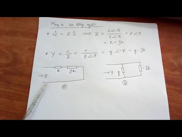 Mạng 2 cực không nguồn-Phương pháp nguồn tương đương-lý thuyết mạch-Nguyễn Công Trình