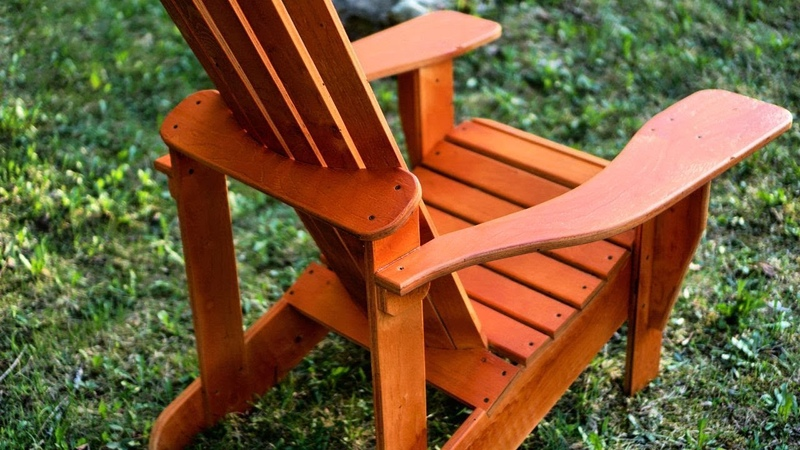 Making Adirondack Chairs From PLYWOOD 2 from one sheet