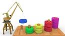 Учим цвета,считаем,знакомимся с цифрами.Развивающий мультик для детей 1-3 года