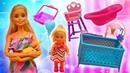 Barbie ve Sevcan yenidoğan alışverişindeler! Steffi kardeşi için eşya seçiyor