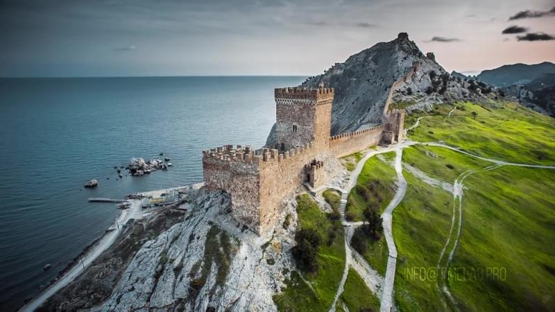 Crimea Aerial Timelab.pro -- Крым Аэросъемка
