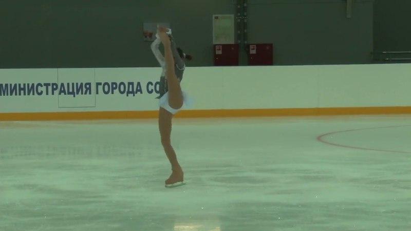 Alina Zagitova 20141031 13 122.21 III этап Кубка России 2014 Сочи ПП 11 84.53