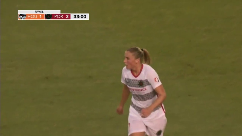 GOAL: Ana-Maria Crnogorčević puts Portland back in the lead