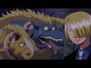 Anime One Piece Ван Пис Прикол Смешной момент неожиданная встреча