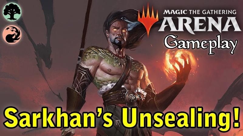 Magic Arena | Sarkhan's Unsealing