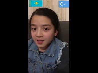Уйгурские девочки из Казахстана просят спасти их отца из рук Китая_HD.mp4