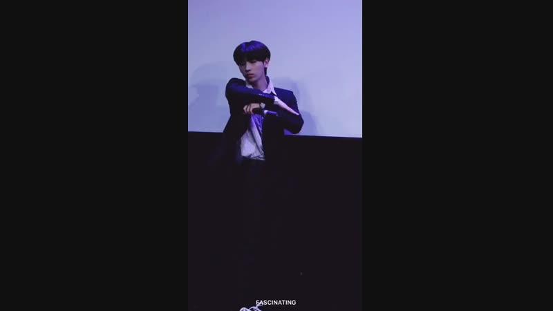 181230 TST (일급비밀) - Paradise [JUNGHOON focus] Нагоя, мероприятие в International Legend Hall