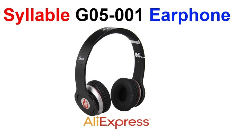 Наушники Syllable G05-001 Earphone AliExpress