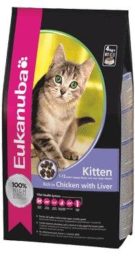 Eukanuva Kitten Rich in Chicken and Liver