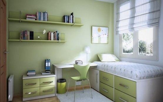 Идеи для маленькой детской комнаты.