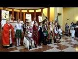 Український різдвяний вертеп в Барселоні 2014