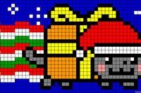 Услуга.  Kopatel online (Схемы для пиксель-арта) .