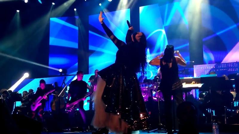 Evanescence finale: Palladio / No More Tears / Alive