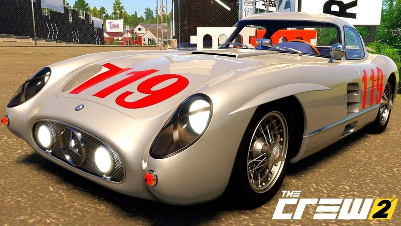 THE CREW 2 GOLD EDiTiON (TUNiNG) MERCEDES-BENZ 300 SLR UHLENHAUT COUPE (W196) PART 187 ...