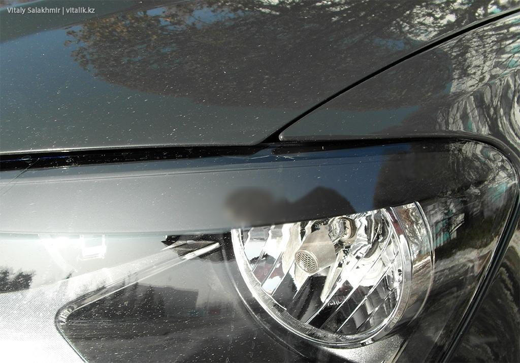 Зазор на крыле машины Anytime