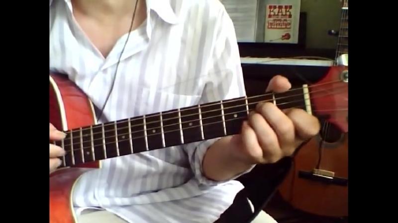 Ничь яка мисячна (НIЧ ЯКА МIСЯЧНА) Аккорды на гитаре