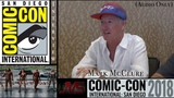 (SHORT) INTERVIEW with MARC MCCLURE about (Altered) Cameo in Justice League at #SDCC2018 (07.19.18)