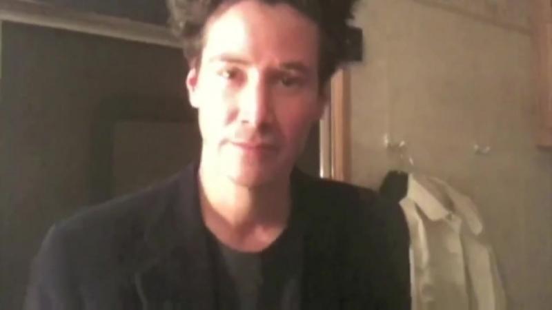 Keanu Reeves speaks French! (set Henrys Crime) _ Jadore K_)