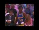 Ralph Sampson Warriors 10pts vs Lakers 1989