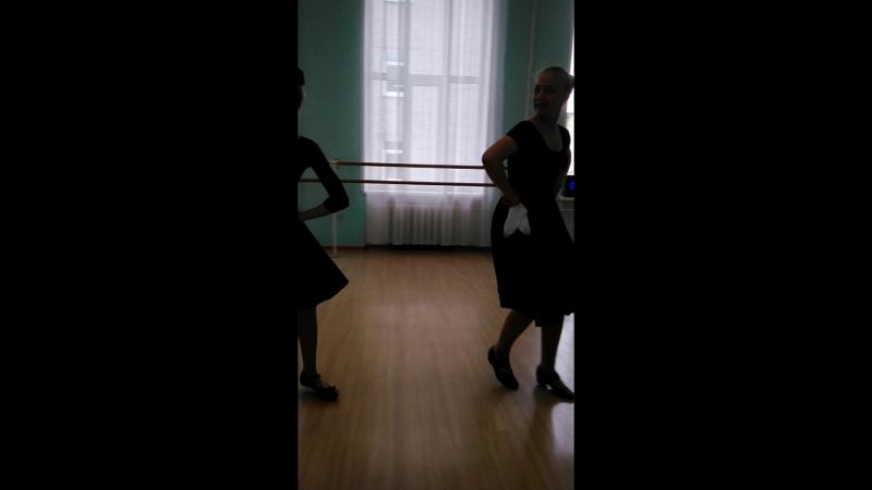 экзамен по народному танцу Выпуск 2018 год