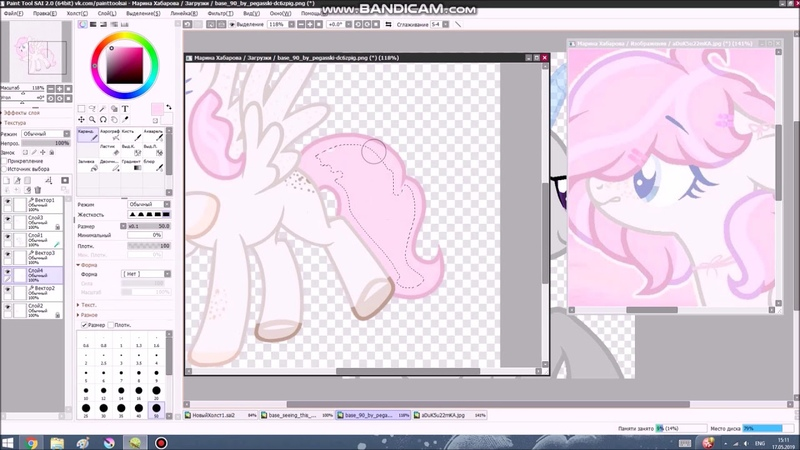 [ request for Olya, pony on base ]