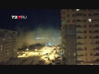 Странный дым в Антипино