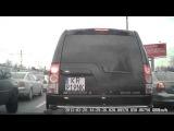 Как пропускают авто скорой помощи в Польше, Краков