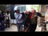 Донецк трупы на дороге и обочине 500м до аэропорта Donetsk