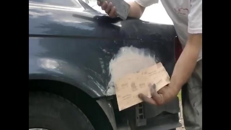 Ремонт дыр на авто без сварки