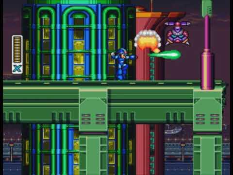 Прохождение Megaman X 1