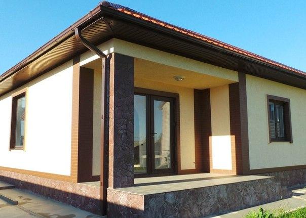 1-этажный дом 130 м²