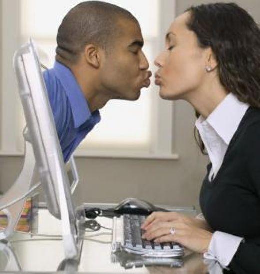 онлайн поцелуй