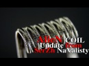 ALIEN COIL Update Without using staples magnets COILBUILDER 3 HYBRID BY 3DVAPE