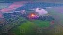 Ракетные удары из РСЗО Чебурашка ДНР по позициям фашистских карателей ВСУ