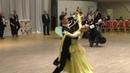 Спортивные бальные танцы Финал Юниоры-2 ОСМО Стандарт до С Медленный фокстрот