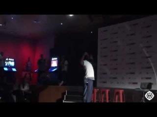Anthony Davis vs James Harden - Davis Comes Up CLUTCH! NBA 2K15 Launch in Madrid