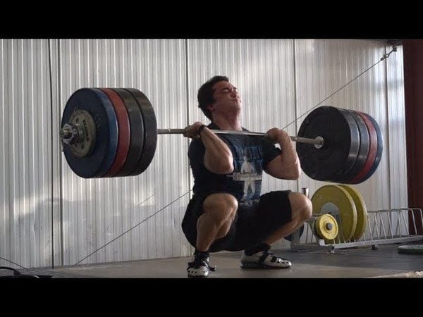 Training the last few days - 170kg Snatch and 205kg Clean and Jerk