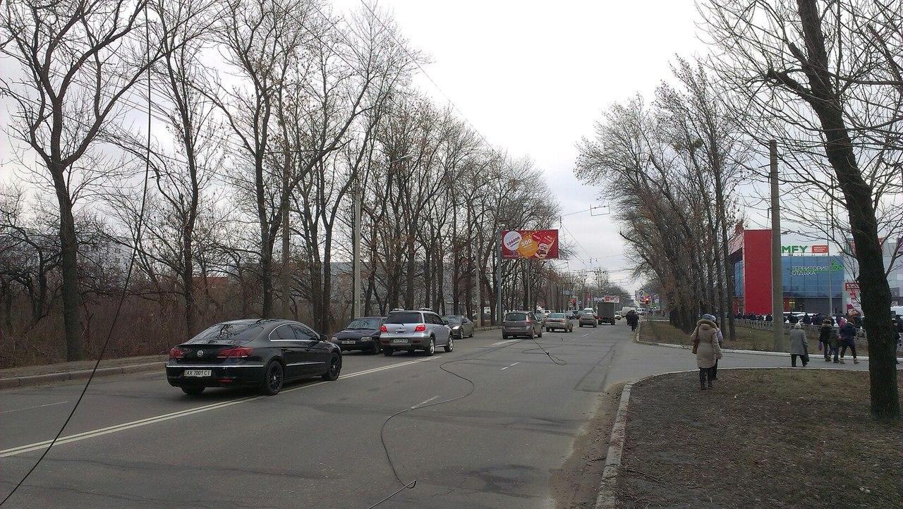 В Харькове остановилось движение (ФОТО)