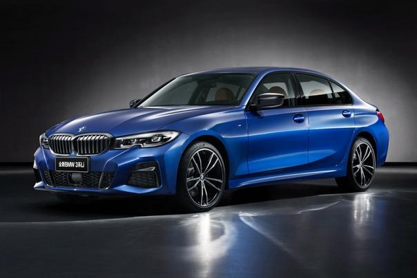 Новая третья серия BMW: длиннобазная версия Фото: компания BMW«Трешка» нового поколения с кузовом универсал пока еще не готова, зато специально для Китая в BMW оперативно подготовили