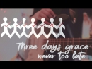 Three Days Grace - Never too late (cover by hitte)