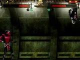 Mortal Kombat Shinobi demo: black Cyrax walkthrough (difficulty 8)