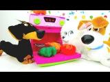 Детское видео! Герои мультфильмов!  Видео про игрушки из мультика Тайная жизнь: Г...