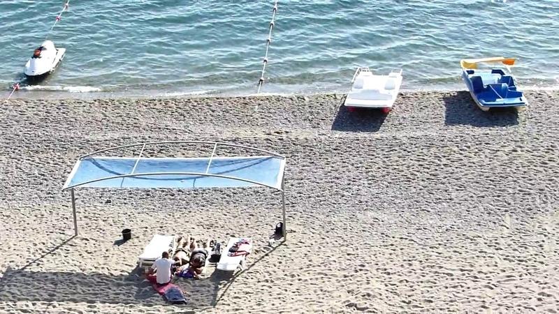Пляж бухты Капсель(мыс Меганом)
