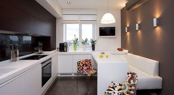 Шикарная и уютная кухня