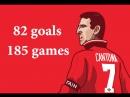 Эрик Кантона Все голы за Манчестер Юнайтед (82 мяча за 185 матчей) 1992-1997