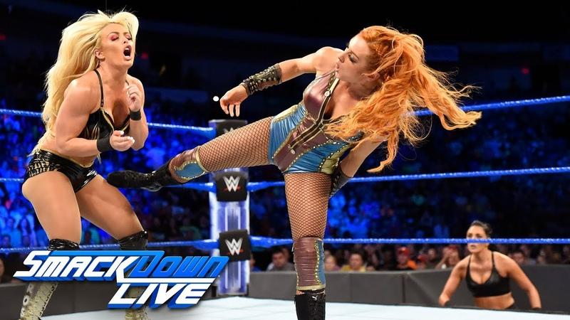 BLOG_video | Becky Lynch vs. Mandy Rose: SmackDown LIVE, July 17, 2018
