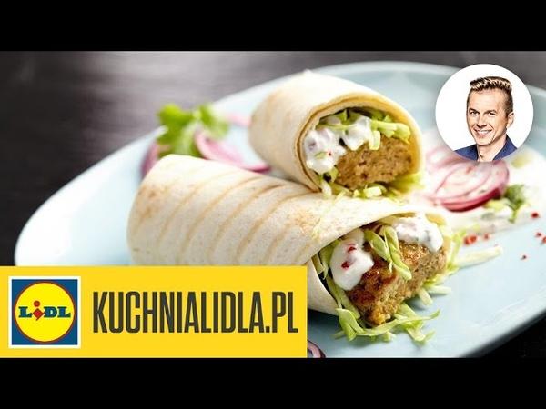 Пряный мясной (свинина или баранина) кебаб с нутом и йогуртовым соусом Najlepszy pikantny kebab z sosem jogurtowym - Karol Okrasa - Przepisy Kuchni Lidla