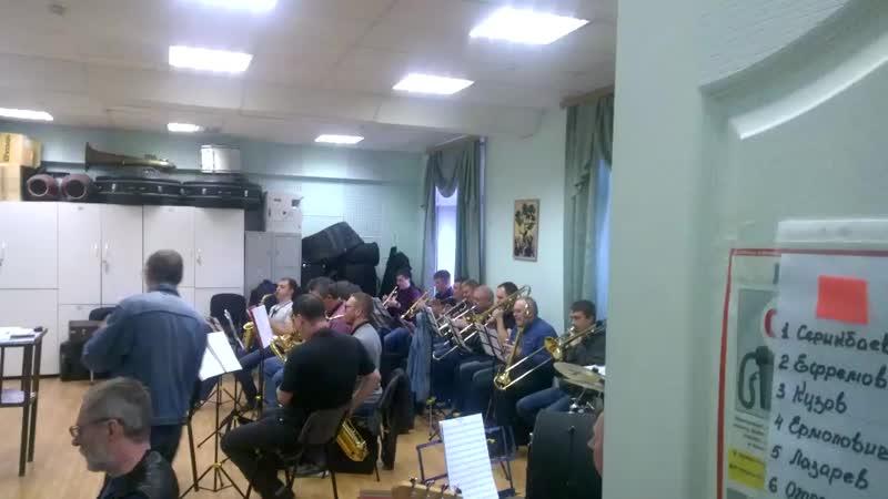 Эстрадный оркестр Бэкграунд бэнд на турнире ЦентрДержавы